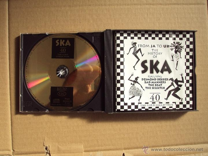 CDs de Música: THE HISTORY OF SKA, FROM JA TO UK, DESMOND DEKKER, BAD MANNERS, THE BEAT, THE SELECTER, DOBLE CD - Foto 4 - 52382679