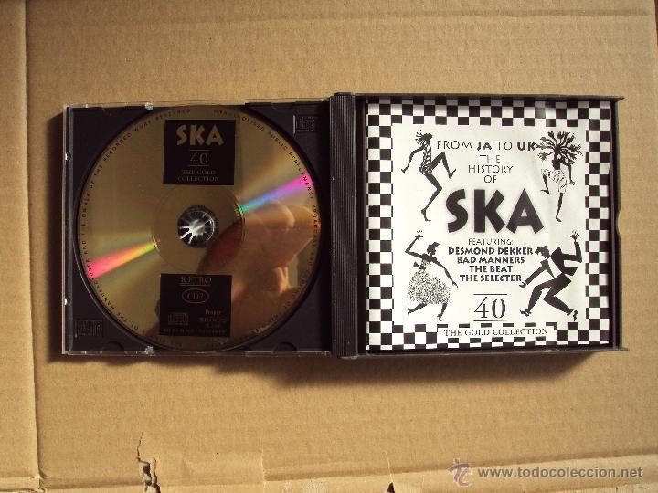 CDs de Música: THE HISTORY OF SKA, FROM JA TO UK, DESMOND DEKKER, BAD MANNERS, THE BEAT, THE SELECTER, DOBLE CD - Foto 4 - 52382679