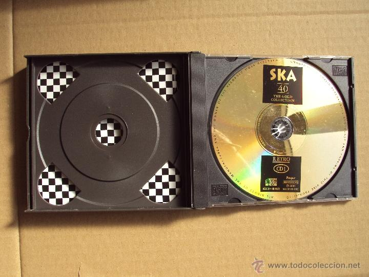 CDs de Música: THE HISTORY OF SKA, FROM JA TO UK, DESMOND DEKKER, BAD MANNERS, THE BEAT, THE SELECTER, DOBLE CD - Foto 5 - 52382679