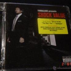 CDs de Música: TIMBALAND. SHOCK VALUE. CD EDICION EXTRANJERA. Lote 52384033