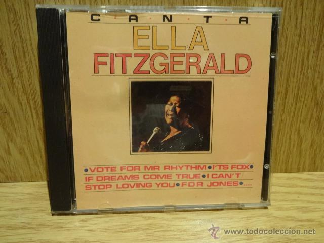 ELLA FITZGERALD.. CD / DOBLON - 1991. 12 TEMAS / CALIDAD LUJO. (Música - CD's Jazz, Blues, Soul y Gospel)