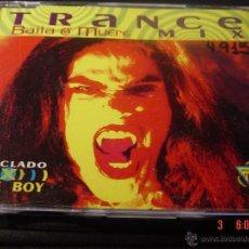 CDs de Música: TRANCE BAILA O MUERE MIX. MEZCLADO X KIKE BOY. CD PROMOCIONAL. Lote 52403344