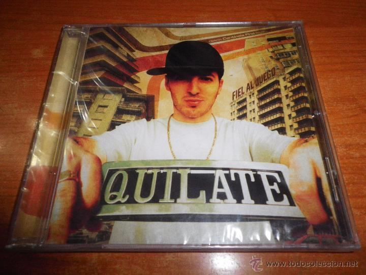 QUILATE FIEL AL JUEGO CD ALBUM PRECINTADO DEL AÑO 2006 CONTIENE 7 TEMAS HIP HOP RAP (Música - CD's Hip hop)