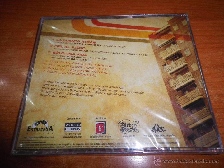 CDs de Música: QUILATE Fiel al juego CD ALBUM PRECINTADO DEL AÑO 2006 CONTIENE 7 TEMAS HIP HOP RAP - Foto 2 - 52417613