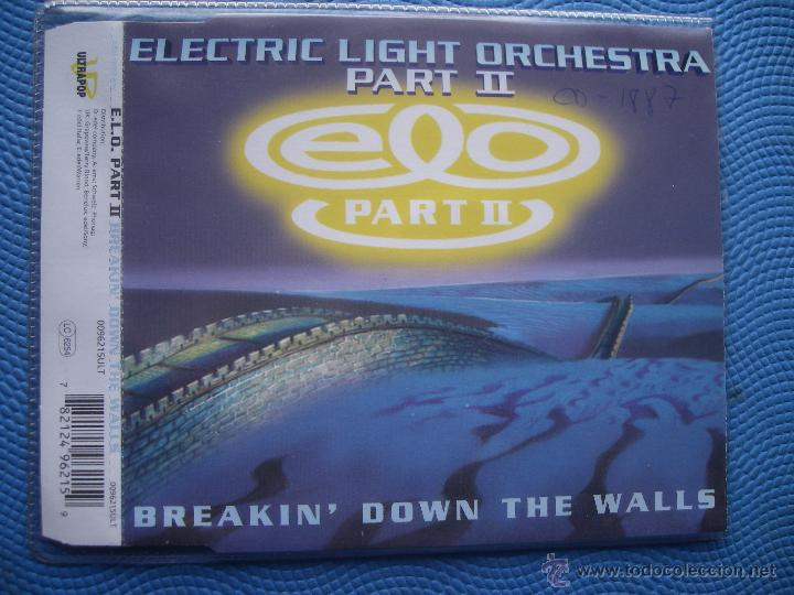 ELECTRIC LIGHT ORCHESTRA BREAKIN´DOWN THE WALLS CD SINGLE GERMANY 1994 PDELUXE (Música - CD's Rock)
