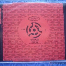 CDs de Música: PEARL JAM NOT FOR YOU CD SINGLE AUSTRIA 1995 PDELUXE. Lote 52424960