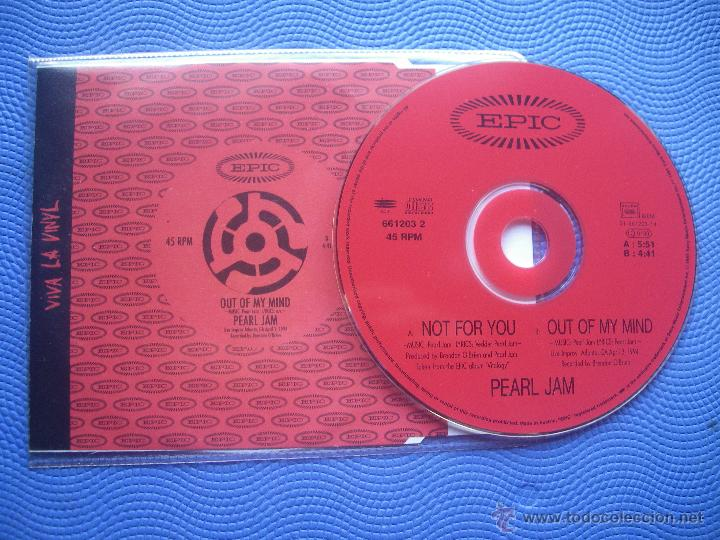 CDs de Música: PEARL JAM NOT FOR YOU CD SINGLE AUSTRIA 1995 PDELUXE - Foto 2 - 52424960