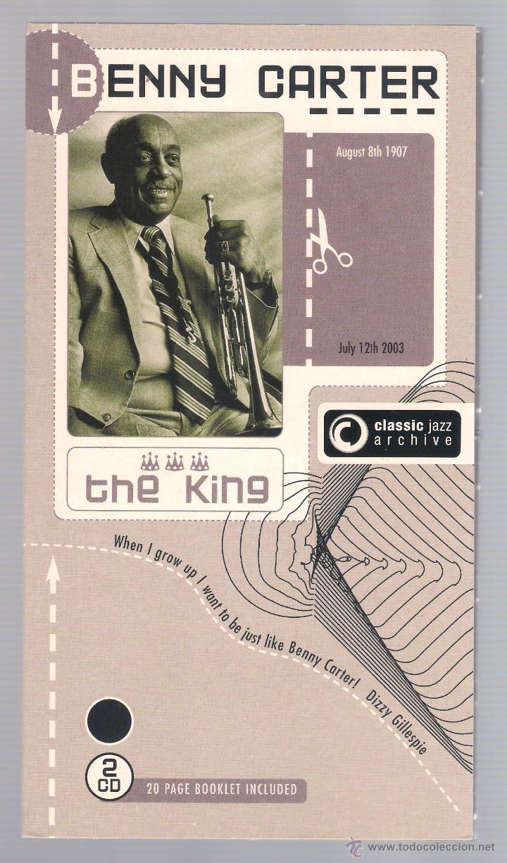 BENNY CARTER - CLASSIC JAZZ ARCHIVE (2 CD + 20 PAGE BOOKLET, DIGIPACK) (Música - CD's Jazz, Blues, Soul y Gospel)