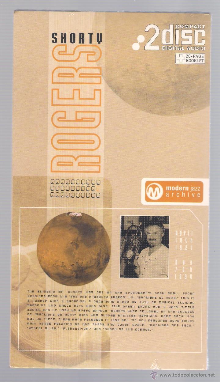 SHORTY ROGERS - MODERN JAZZ ARCHIVE (2 CD + 20 PAGE BOOK, DIGIPACK) (Música - CD's Jazz, Blues, Soul y Gospel)