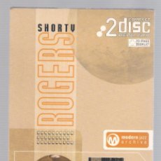 CDs de Música: SHORTY ROGERS - MODERN JAZZ ARCHIVE (2 CD + 20 PAGE BOOK, DIGIPACK). Lote 52448362