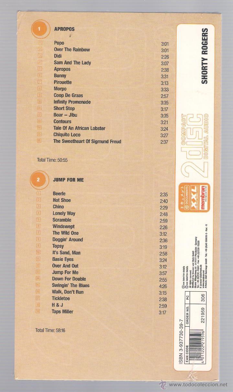 CDs de Música: SHORTY ROGERS - Modern Jazz Archive (2 CD + 20 page book, digipack) - Foto 2 - 52448362