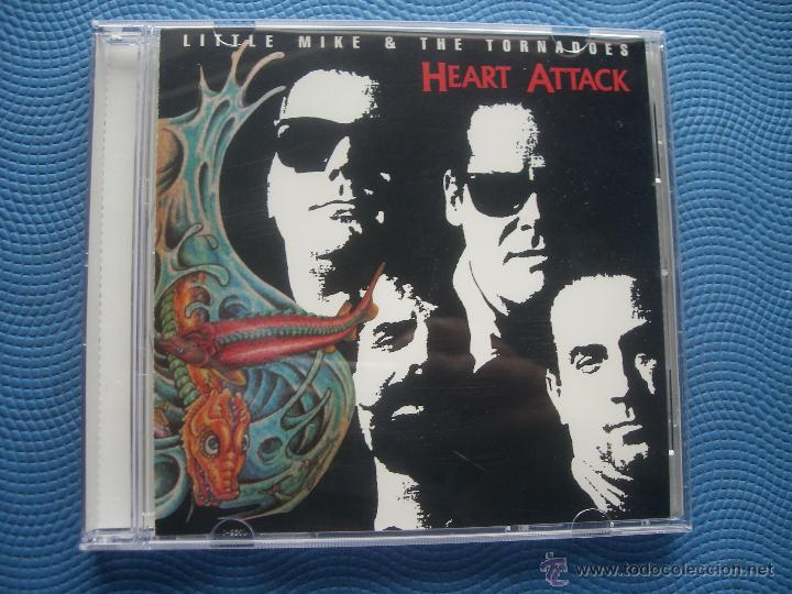 LITTLE MIKE & THE TORNADOES HEART ATTACK CD ALBUM USA 1990 PDELUXE (Música - CD's Jazz, Blues, Soul y Gospel)