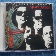 CDs de Música: LITTLE MIKE & THE TORNADOES HEART ATTACK CD ALBUM USA 1990 PDELUXE. Lote 52452612