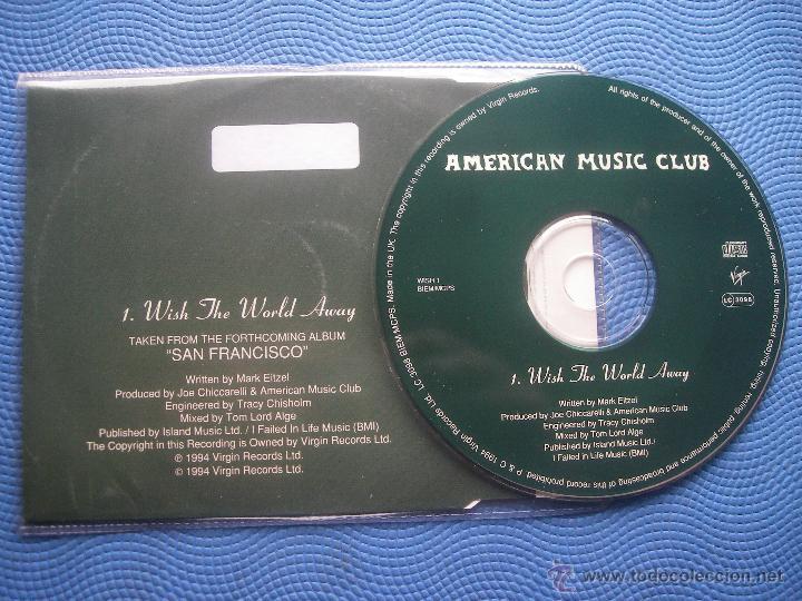 CDs de Música: AMERICAN MUSIC CLUB WISH THE WORLD AWAY CD SINGLE UK 1994 PDELUXE - Foto 2 - 52453089