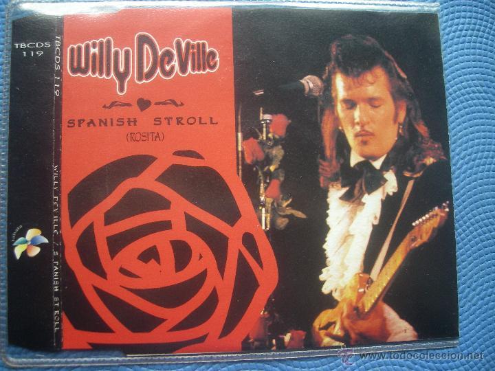 WILLY DEVILLE SPANISH STROLL CD SINGLE SPAIN 1994 PDELUXE (Música - CD's Pop)