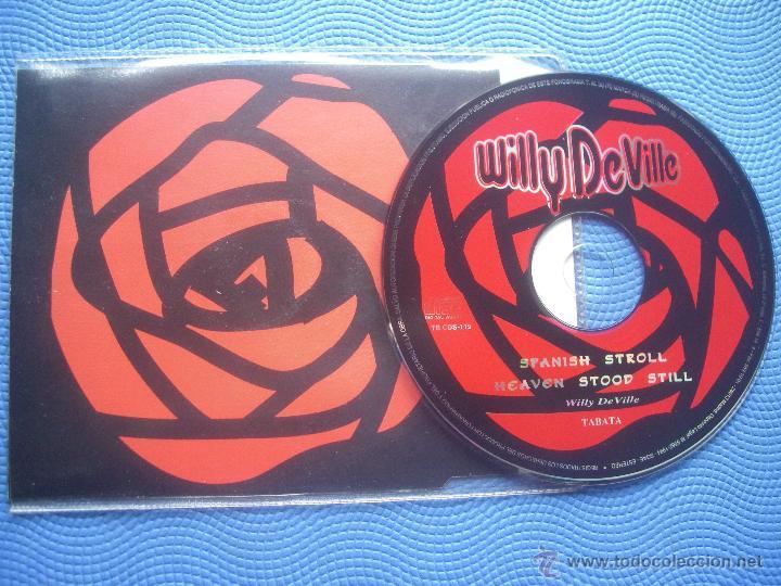 CDs de Música: WILLY DEVILLE SPANISH STROLL CD SINGLE SPAIN 1994 PDELUXE - Foto 2 - 52453344