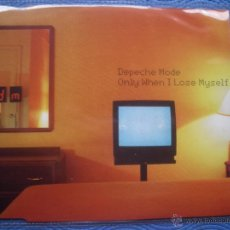 CDs de Música: DEPECHE MODE ONLY WHEN I LOSE MYSELF CD SINGLE UK 1998 PDELUXE. Lote 52453383