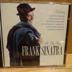 CDs de Música: FRANK SINATRA. ALL THE WAY. CD / PEGASUS - 1998. 18 TEMAS / CALIDAD LUJO.. Lote 52461208