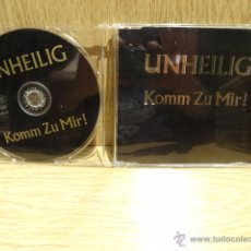 CDs de Música: UNHEILIG. KOM ZU MIR ! CD SINGLE / BLOODLINE - 2000. CALIDAD LUJO. ULTRARARO.. Lote 52463601