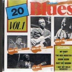CDs de Música: CD 20 ORIGINALS BLUES VOL.1. Lote 52476058