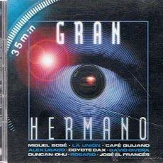 CDs de Música: CD GRAN HERMANO 2 DISCOS AÑO 2002. Lote 52477109