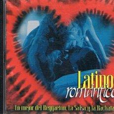 CDs de Música: CD LATINO ROMÁNTICO LO MEJOR DEL REGGETON,LA SALSA Y LA BACHATA. Lote 52478238