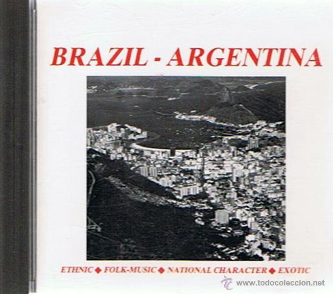 CD BRAZIL - ARGENTINA (Música - CD's Latina)