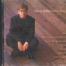 CDs de Música: CD ELTON JOHN ¨LOVE SONGS¨. Lote 52479721