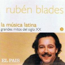 CDs de Música: CD RUBÉN BLADES LA MÚSICA LATINA. Lote 52479813