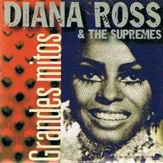 CDs de Música: CD DIANA ROSS & THE SUPREMES GRANDES MITOS . Lote 52480441