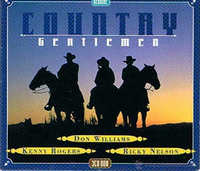 CD COUNTRY GENTLEMEN (3 CD´S ) (Música - CD's Country y Folk)
