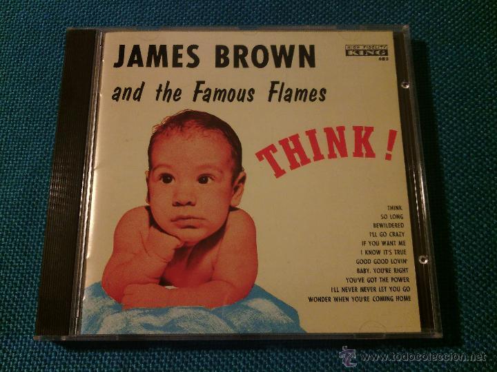 CD JAMES BROWN AND THE FAMOUS FLAMES - THINK! / ORIG. JAPAN EDITION POCP-1848 / FUNK SOUL RARÍSIMO!! (Música - CD's Jazz, Blues, Soul y Gospel)