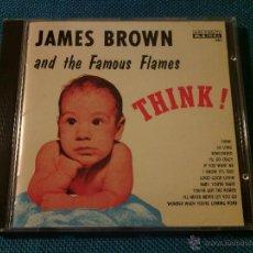 CDs de Música: CD JAMES BROWN AND THE FAMOUS FLAMES - THINK! / ORIG. JAPAN EDITION POCP-1848 / FUNK SOUL RARÍSIMO!!. Lote 52480973