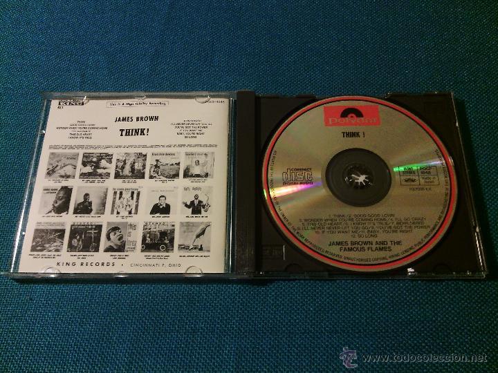 CDs de Música: CD JAMES BROWN AND THE FAMOUS FLAMES - THINK! / Orig. Japan edition POCP-1848 / FUNK SOUL RARÍSIMO!! - Foto 2 - 52480973