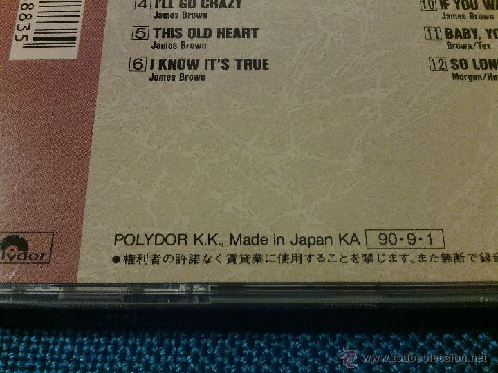 CDs de Música: CD JAMES BROWN AND THE FAMOUS FLAMES - THINK! / Orig. Japan edition POCP-1848 / FUNK SOUL RARÍSIMO!! - Foto 6 - 52480973