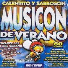 CDs de Música: CD CALENTITO Y SABROSON MUSICON DE VERANO ( 4CD´S) . Lote 52481039