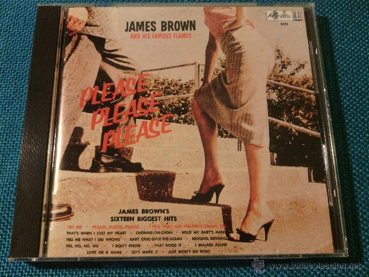 CD JAMES BROWN AND THE FAMOUS FLAMES - PLEASE / ORIG. JAPAN EDITION POCP-1847 / FUNK SOUL RARÍSIMO!! (Música - CD's Jazz, Blues, Soul y Gospel)