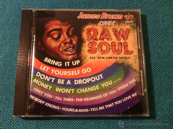 CD JAMES BROWN SINGS - RAW SOUL / ORIG. JAPAN EDITION POCP-1852 / FUNK SOUL RARÍSIMO!!!!!!!!!!!!!!!! (Música - CD's Jazz, Blues, Soul y Gospel)
