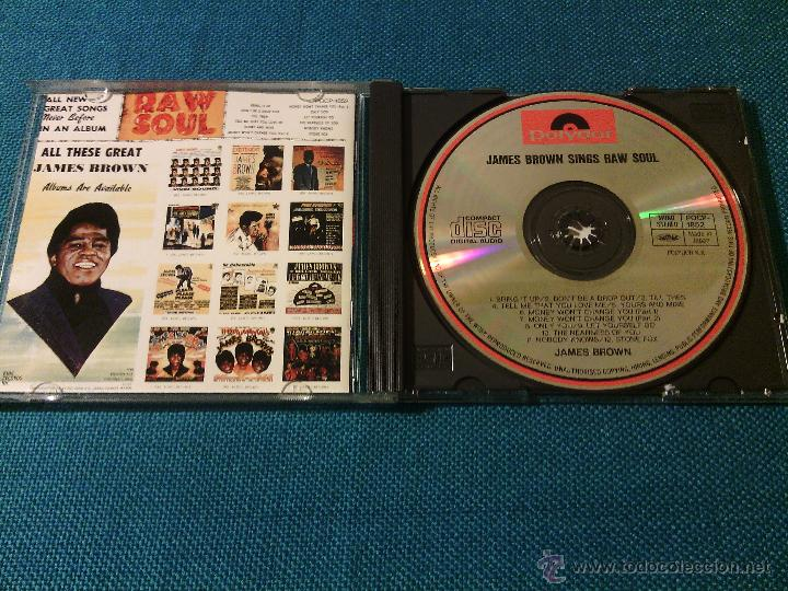 CDs de Música: CD JAMES BROWN SINGS - RAW SOUL / Orig. Japan edition POCP-1852 / FUNK SOUL RARÍSIMO!!!!!!!!!!!!!!!! - Foto 2 - 52481272