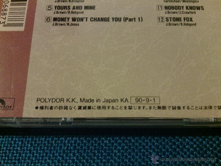 CDs de Música: CD JAMES BROWN SINGS - RAW SOUL / Orig. Japan edition POCP-1852 / FUNK SOUL RARÍSIMO!!!!!!!!!!!!!!!! - Foto 5 - 52481272