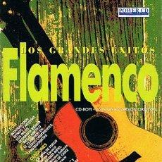 CDs de Música: CD - ROM LOS GRANDES ÉXITOS FLAMENCO Nº 8 . Lote 52481626