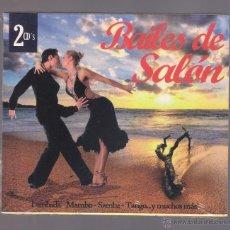 CDs de Música: BAILES DE SALON - LAMBADA, MAMBO, SAMBA, TANGO... Y MUCHOS MÁS! (2 CD 2011, NOVOSON JSD-47030/1-2). Lote 52516892