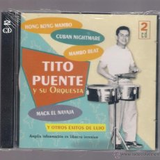 CDs de Música: TITO PUENTE Y SU ORQUESTA (2 CD 2006, JESSICA CDB 64050 / 51). Lote 220864736