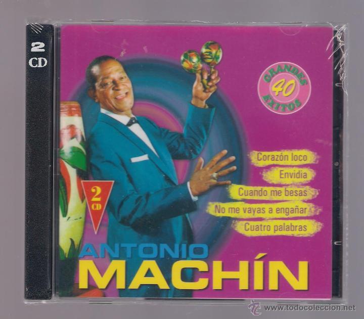 ANTONIO MACHIN - GRANDES 40 ÉXITOS (2 CD 2004, JESSICA CDB 64035/36) (Música - CD's Latina)