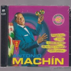 CDs de Música: ANTONIO MACHIN - GRANDES 40 ÉXITOS (2 CD 2004, JESSICA CDB 64035/36). Lote 52517399