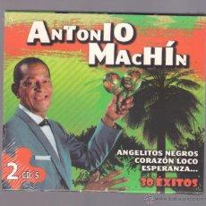 CDs de Música: ANTONIO MACHIN - 30 ÉXITOS (2 CD 2011, NOVOSON JSD-47033/1-2). Lote 52517500