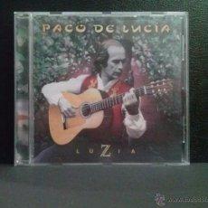 CDs de Música: PACO DE LUCIA - LUZIA - CD DE 1998. Lote 52533852