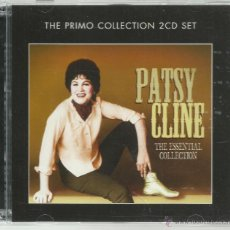 CDs de Música: PATSY CLINE - THE ESSENTIAL COLLECTION - CD DOBLE PRIMO NUEVO. Lote 52552015