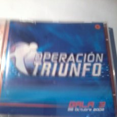 CDs de Música: CD. OPERACIÓN TRIUNFO GALA 3. MB2CD. Lote 52572142