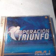 CDs de Música: CD. OPERACIÓN TRIUNFO. GALA 1. 14 DE OCTUBRE 2002. MB1CD. Lote 52572414